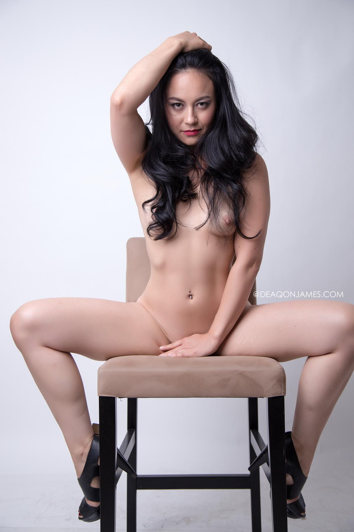 Rebekah Shibao - Glamour Model for Deaqon James Photography